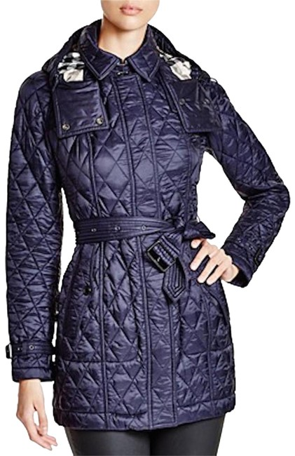 Preload https://img-static.tradesy.com/item/26734313/burberry-navy-finsbridge-belted-quilted-check-jacket-small-coat-size-6-s-0-1-650-650.jpg