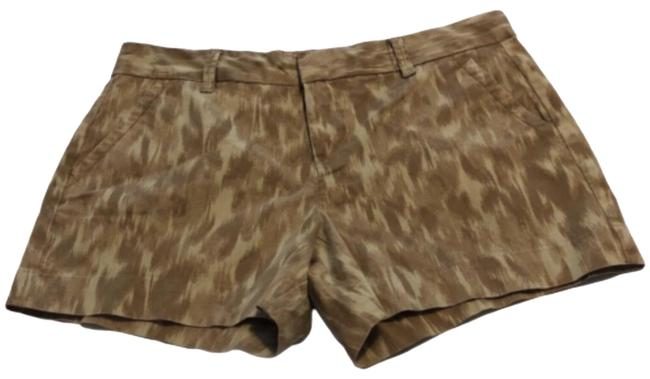 Item - Tan and Green Camo Chino Shorts Size 10 (M, 31)