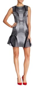 Diane von Furstenberg short dress black white on Tradesy