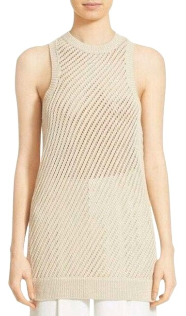 Item - Open Knit Woven Sweater Tunic Tank Top/Cami Size 6 (S)