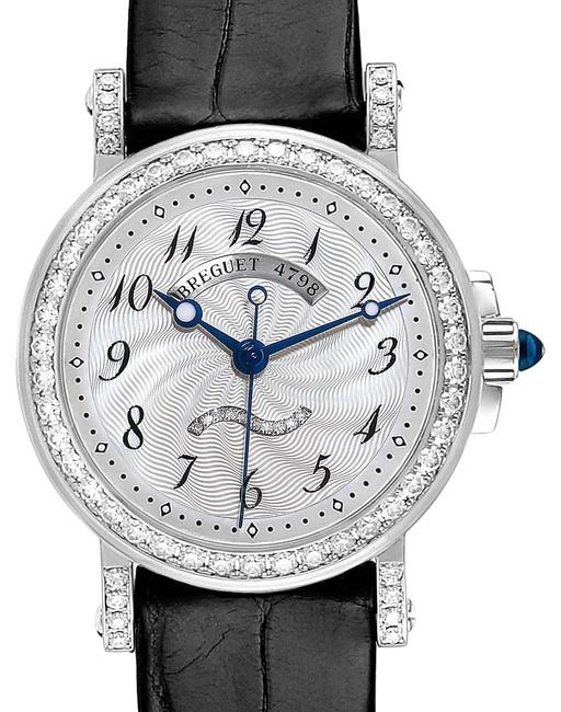 Item - Mother Of Pearl Classique White Gold Diamond Ladies 8818 Watch