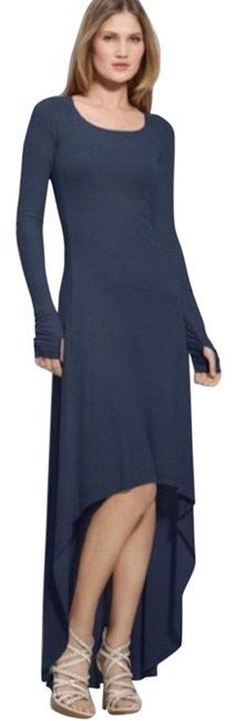 Item - Blue Navy High Long Casual Maxi Dress Size 2 (XS)