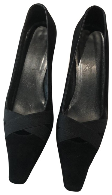 Item - Black Suede Pumps Size US 8 Narrow (Aa, N)