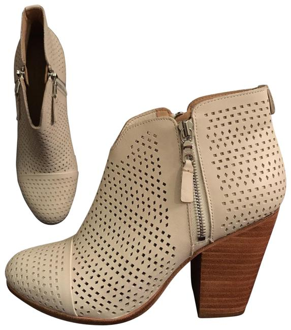 Item - White Nwot Margot Perforated Leather Ankle Boots/Booties Size EU 39 (Approx. US 9) Regular (M, B)