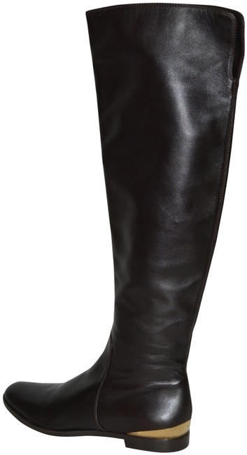 Item - Brown New Soft Leather Riding Eu 37.5 Italy Boots/Booties Size US 7.5 Regular (M, B)