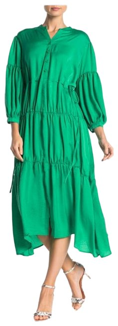 Tov Green Long Casual Maxi Dress Size 8 (M) Tov Green Long Casual Maxi Dress Size 8 (M) Image 1