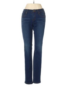 Henry & Belle Low Rise Whiskering Fading Skinny Jeans-Medium Wash
