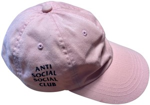 Anti Social Social Club Anti Social Social Club Pink Cap (One Size)