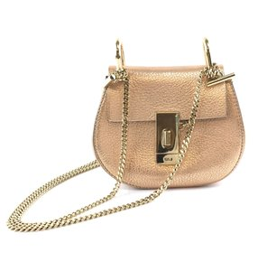 Chloé Cross Body Chain Drew Nano Shoulder Bag