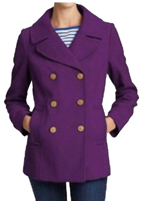 Item - Purple Nwt. Factory Wool Coat Size 6 (S)