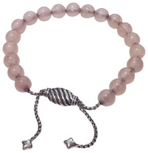 David Yurman David Yurman Spiritual Beads Rose Quartz Bracelet