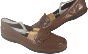 ROCKPORT Adiprene Leather Penny Loafer Leather BROWN Flats