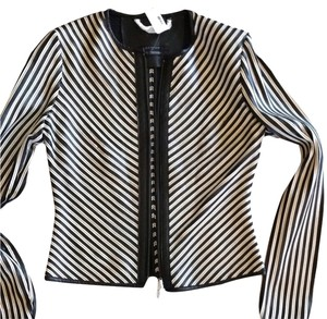 Scoop NYC Black and white Blazer