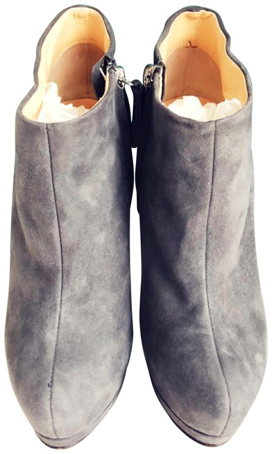 Item - Gray Suede Ava 105 Boots/Booties Size US 6 Regular (M, B)