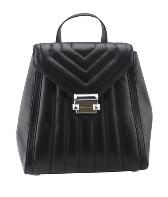 Item - Black Backpack Whitney Quilted Small Leather (167577)