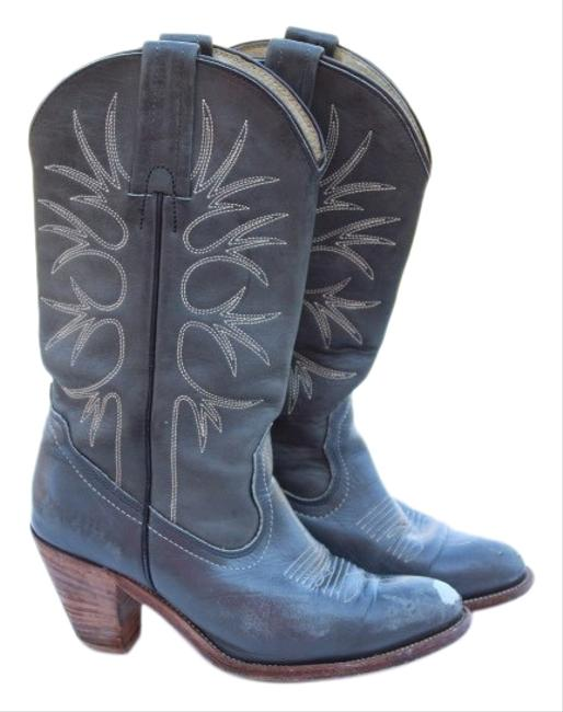 Item - Forest Green Western Boots/Booties Size US 7.5 Regular (M, B)