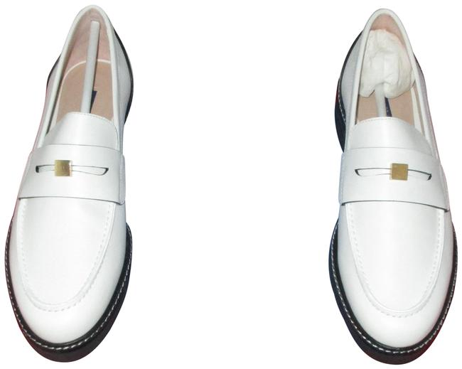 Item - Cresmo White Women's Penley Penny Loafers Flats Size US 9 Regular (M, B)