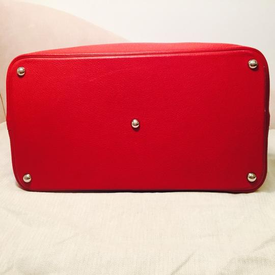 Hermès Bolide Bolide Leather Luxury Exclusive Limited Edition red Travel Bag