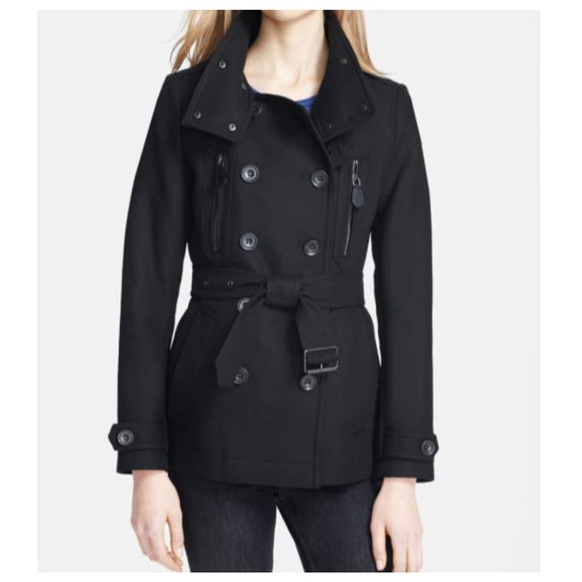 Item - Black Wilford Double Breasted Coat Size 12 (L)