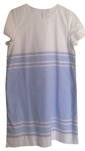 Gap short dress White & Sky Blue on Tradesy