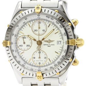 Breitling Breitling Chronomat Automatic Stainless Steel,Yellow Gold (18K) Men's Sports Watch B13050