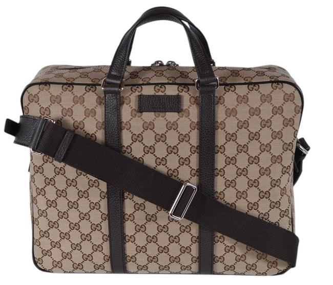 Item - Marmont ssima Briefcase and Leather Brown Beige Gg Canvas Messenger Bag