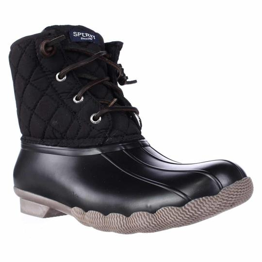 Sperry Top-Sider Black Boots Image 1