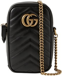 Gucci Gg Monogram Marmont Soho Cross Body Bag