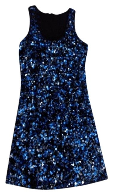 Item - Blue Club XS Sequin Prom Formal Pageant Party Homecoming Short Cocktail Dress Size 2 (XS)