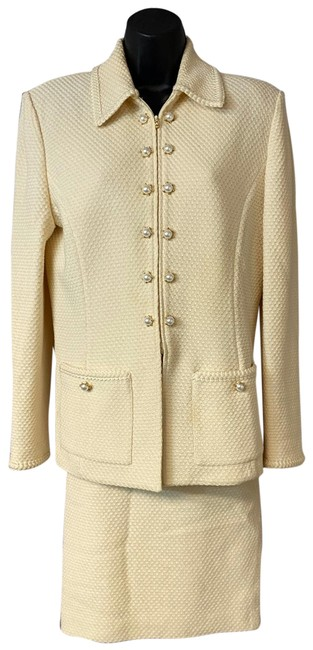 Item - Beige Collection Skirt Suit Size 6 (S)