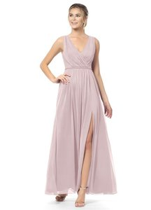 Azazie Dusty Rose Tanica Formal Bridesmaid/Mob Dress Size 4 (S)