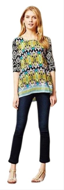 Item - Blue Anthropologie Lily Crop Straight Skinny Jeans Size 2 (XS, 26)