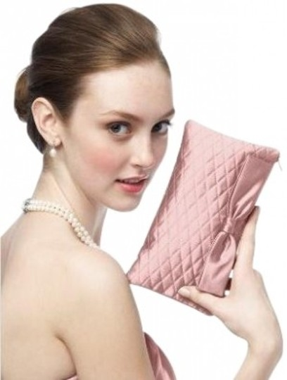Preload https://item1.tradesy.com/images/dessy-quilted-style-hbag4-pink-taffeta-clutch-26745-0-0.jpg?width=440&height=440