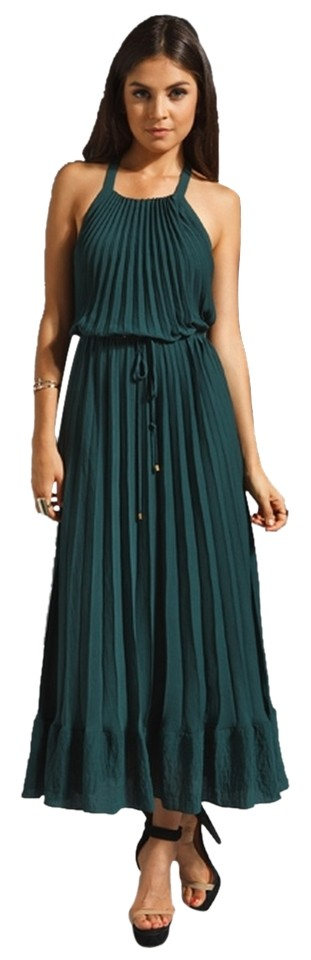 fe9eb5eec095 Green Maxi Dress by Rebecca Taylor Reformation Tibi Tory Burch Haute Hippie  Elizabeth James Image 0 ...