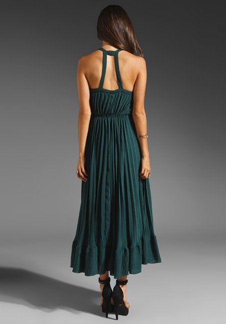Green Maxi Dress by Rebecca Taylor Xs 0 2 Parker Dvf Nightcap