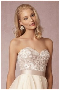 Wtoo Latte Maelin Corset Feminine Wedding Dress Size 8 (M)