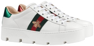 Gucci Ace Sneaker Ace Bee Web Bee Sneaker Platform Athletic