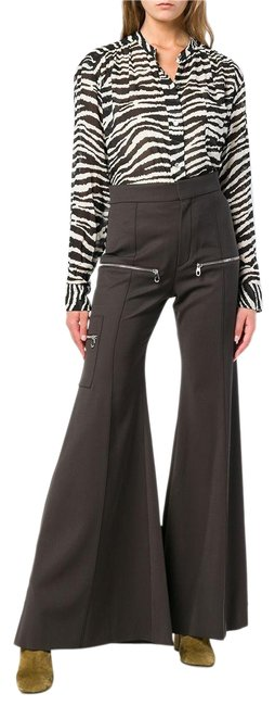 Item - Black 40 French with Zipper Details Pants Size 8 (M, 29, 30)