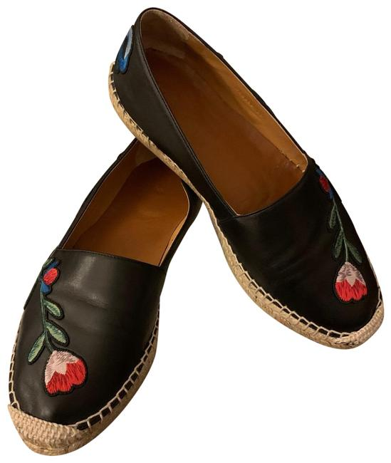 Item - Black with Flowers Nappa Charlotte Sneakers Size EU 38.5 (Approx. US 8.5) Regular (M, B)