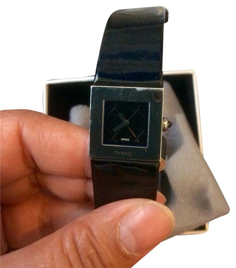 Chanel featured item Chanel Patent Leather Watch circa 1993