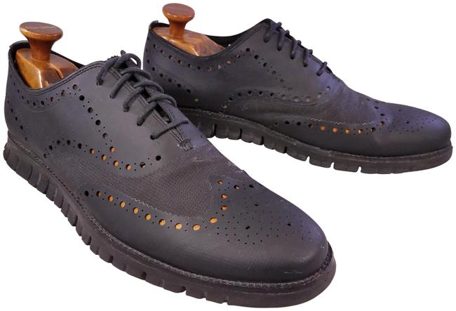 Item - Black Zerogrand Grandos Ma Wingtip Oxfords Sneakers Perforated Le Formal Shoes Size US 13 Regular (M, B)