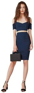 Reformation short dress Blue on Tradesy
