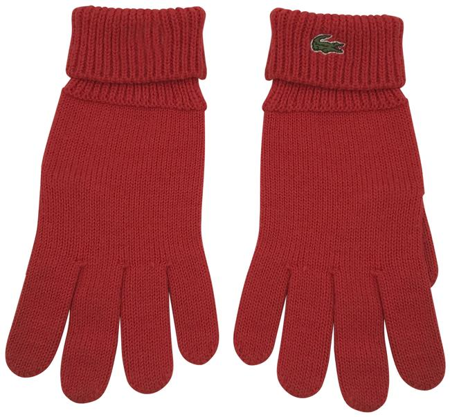 Item - Red Wool/Polyester Gloves
