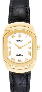 Rolex Rolex Cellini Cellissima Yellow Gold White Dial Ladies Watch 6631