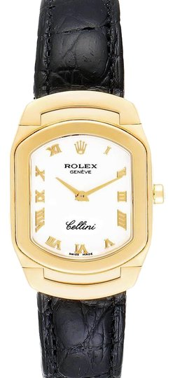 Preload https://img-static.tradesy.com/item/26747896/rolex-white-cellini-cellissima-yellow-dial-ladies-6631-watch-0-1-540-540.jpg