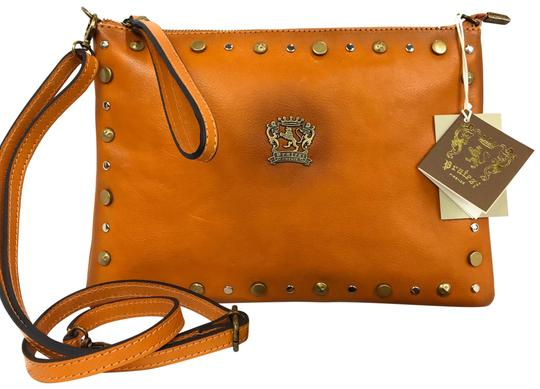 Preload https://img-static.tradesy.com/item/26748317/new-made-in-italy-studded-crossbody-cognac-leather-clutch-0-1-540-540.jpg