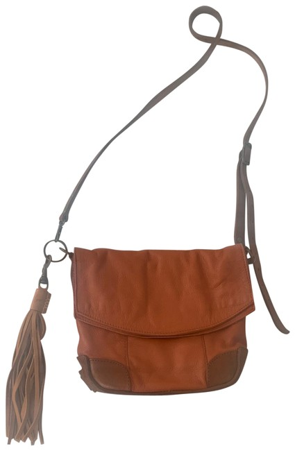 Will Leather Goods Brown Cross Body Bag Will Leather Goods Brown Cross Body Bag Image 1