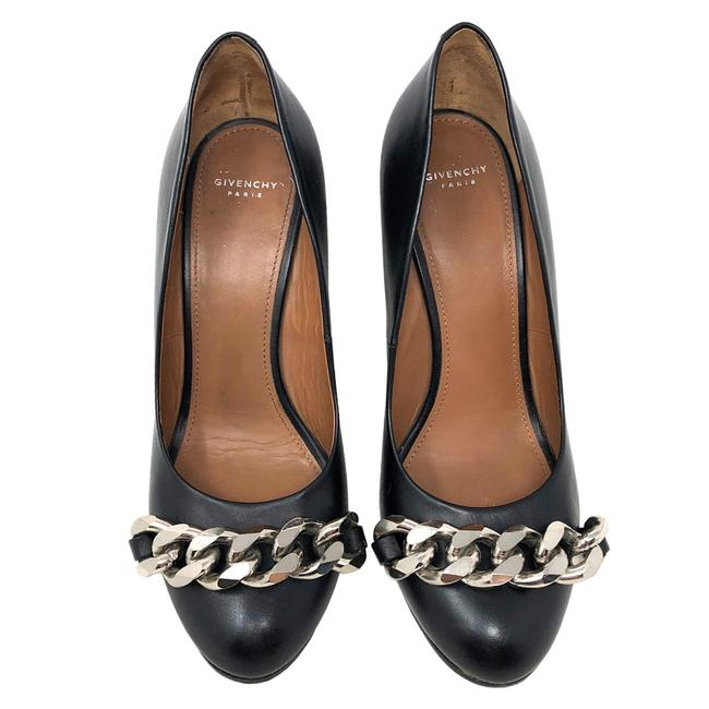 Givenchy Black Chain Pumps Size US 5.5 Regular (M, B) Givenchy Black Chain Pumps Size US 5.5 Regular (M, B) Image 1