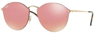 Ray-Ban Lens RB3574N 001/E4 Unisex Round Sunglasses