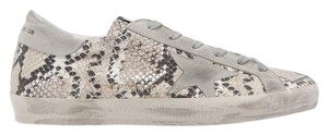 Golden Goose Deluxe Brand Sneakers Suede Gold white, gray Athletic